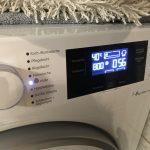 Foto vom Waschgang (Einstellung der Waschmaschine)