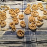 Nudeln trocknen ohne Trockenständer - liegend