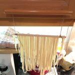 Nudeln trocknen ohne Trockenständer (hängend)